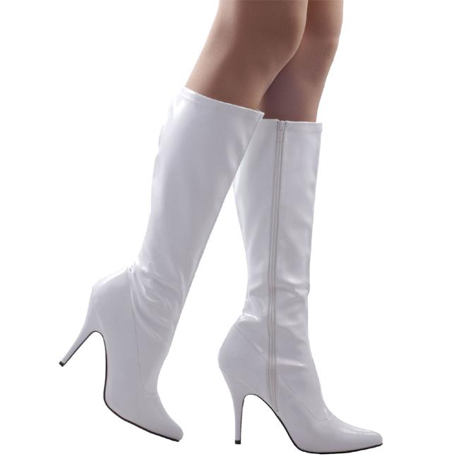 SEDUCE-2000 bottes talons aiguilles blanc taille 39 - 40